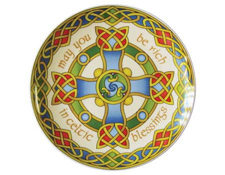 Celtic Cross Collector's Plate