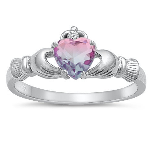 Ombre Claddagh Ring