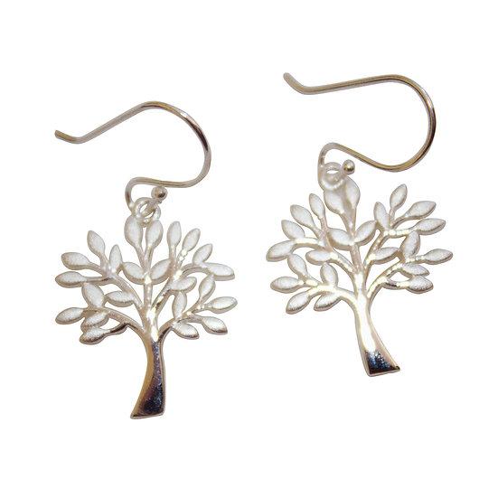 Tree of Life Leaves Earrings