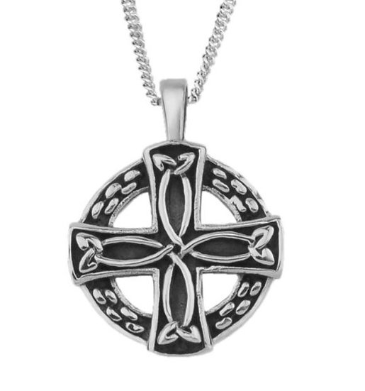 Round Celtic Cross Necklace