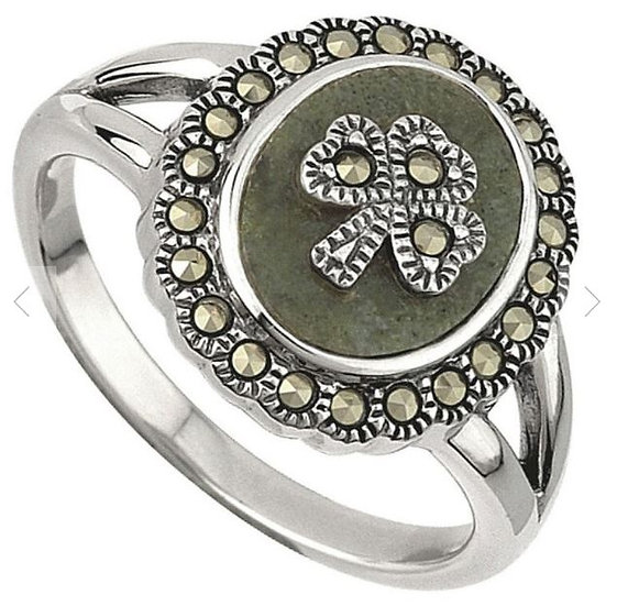 Connemara Shamrock Ring