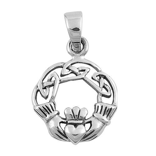 Claddagh Love Knot Pendant
