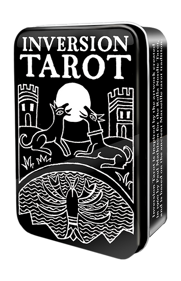 Inversion Tarot Cards in a Tin