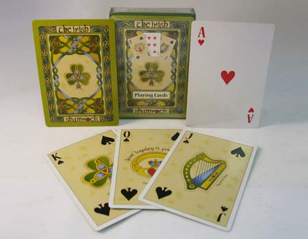 Shamrock Playing Cards