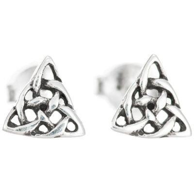 Tiny Trinity Earrings
