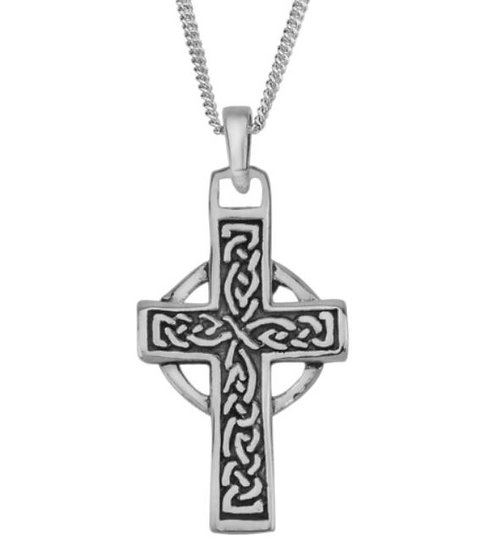Eternity Celtic Cross Necklace