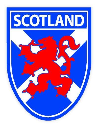 Scotland Saltire / Lion Sticker