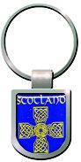 Scotland Blue Shield Keyring