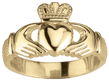 Traditional Gold Claddagh