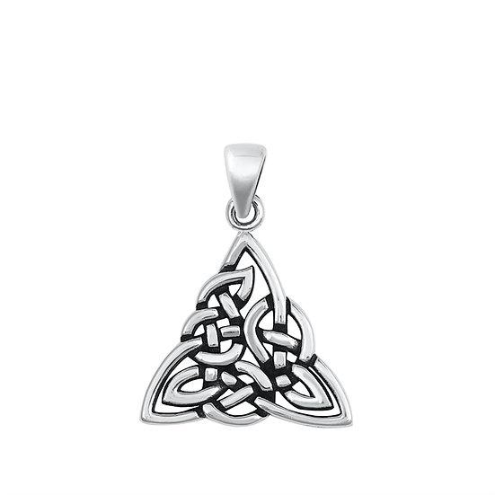 Heavy Knot Trinity Necklace