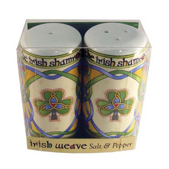 Shamrock Salt & Pepper Shakers