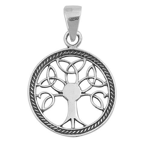 Tree of Life Circle Pendant