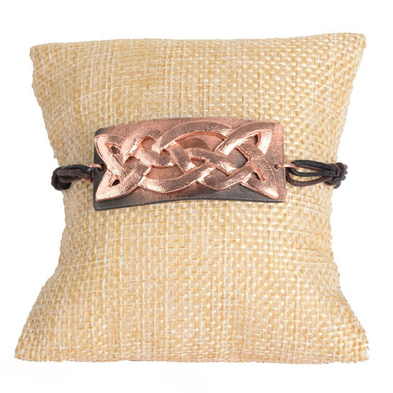 Celtic Knot corded Bracelet