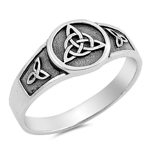 Triple Trinity Knot Ring