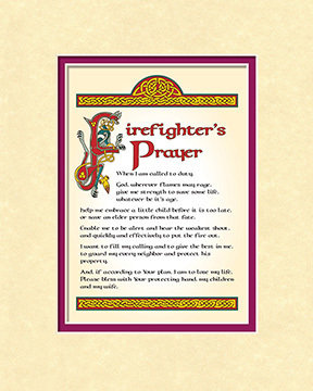 Firefighter's Prayer Print