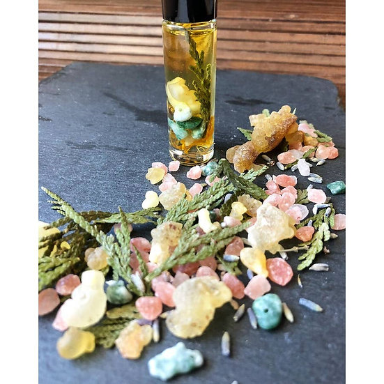 Crystal & Essential Oil Perfume