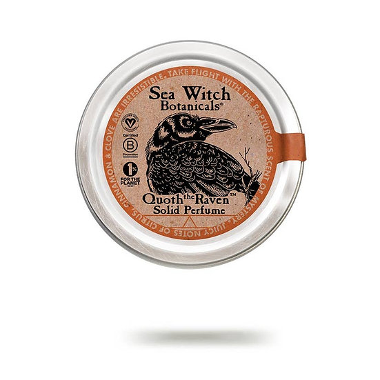 Solid Perfume (certified vegan, all-natural)