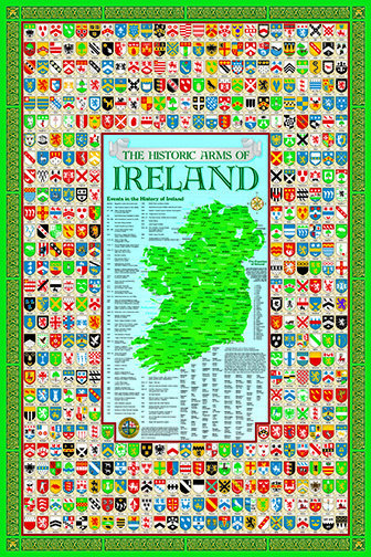 Ireland Coat of Arms Poster