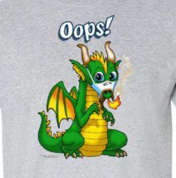 Oops Dragon T-Shirt