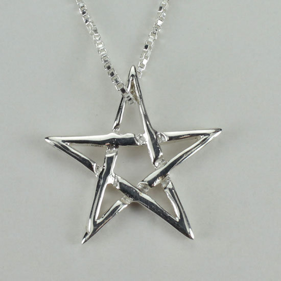 Small Star Pentacle Pendant