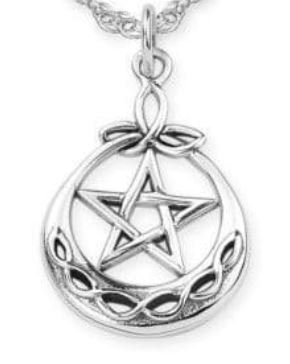 Trinity Pentacle Necklace