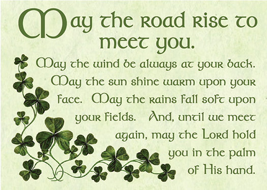 May the Road Rise Magnet