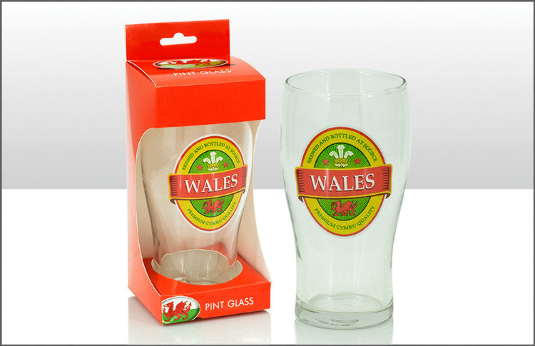 Welsh Pint Glass