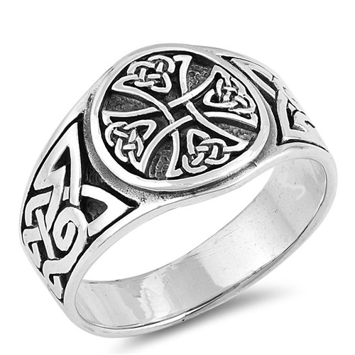 Celtic Cross and Trinity Ring