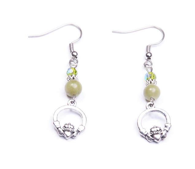 Connemara Claddagh Earrings