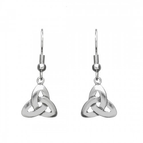 Pewter Trinity Earrings