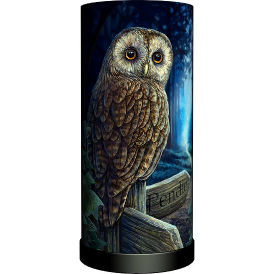 Cylinder Fabric Lamps
