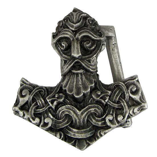 Thor's Hammer Belt Buckle