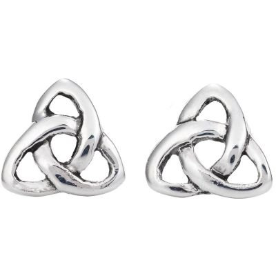 Small Trinity Post Earrings