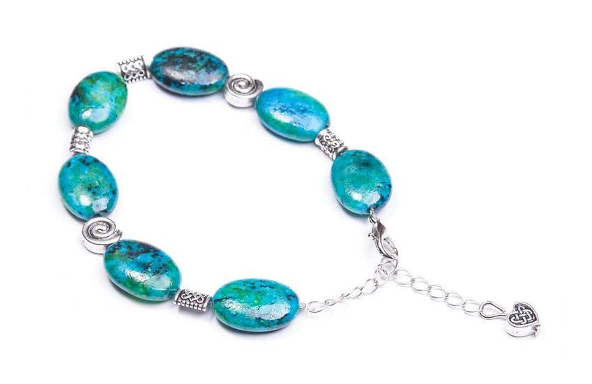 Chrysocolla Oval Bracelet