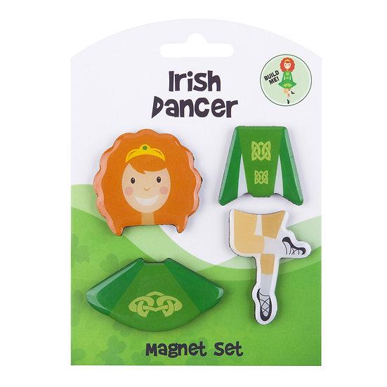 Ireland Dancer 4Pack Magnets
