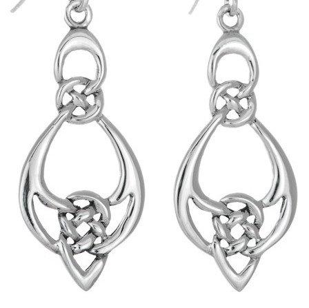 Large Loop Trinity Earrings