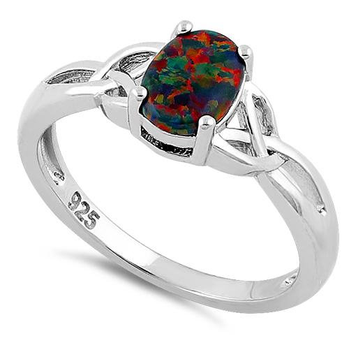 Ring: Trinity Fire Opal