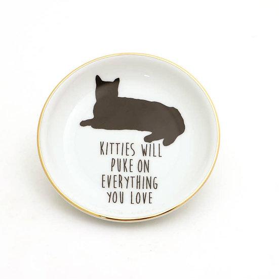 Kitty Puke Dish