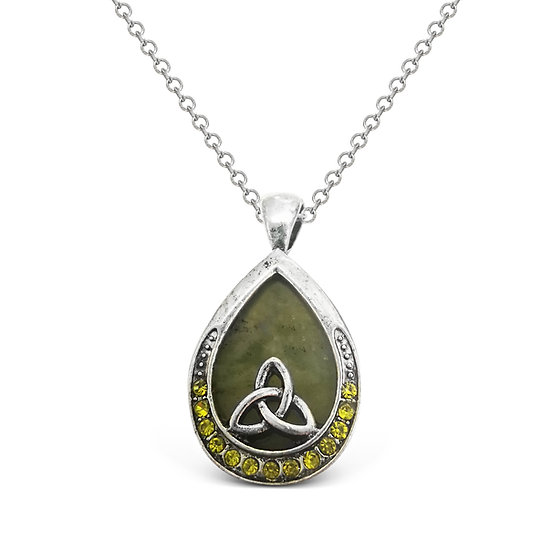 Connemara Trinity Crystal Necklace