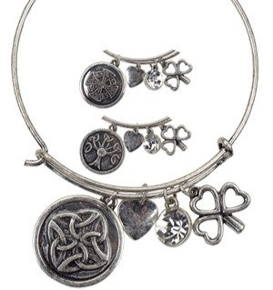 Celtic Bangle Bracelet