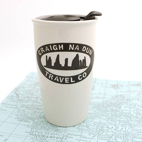 Outlander Craigh Na Dun Travel Mug