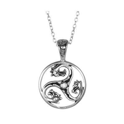 Dragon Triskele Necklace