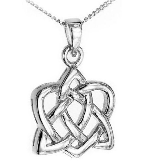 Simple Love Knot Necklace