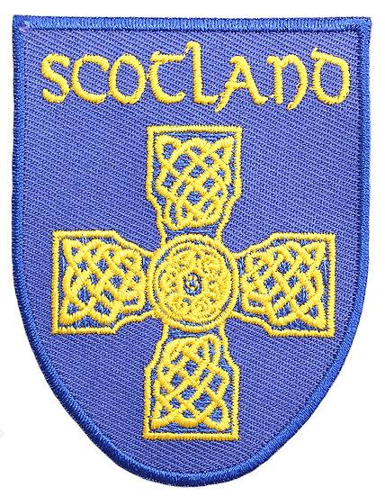 Scotland Blue Yellow Knot Patch