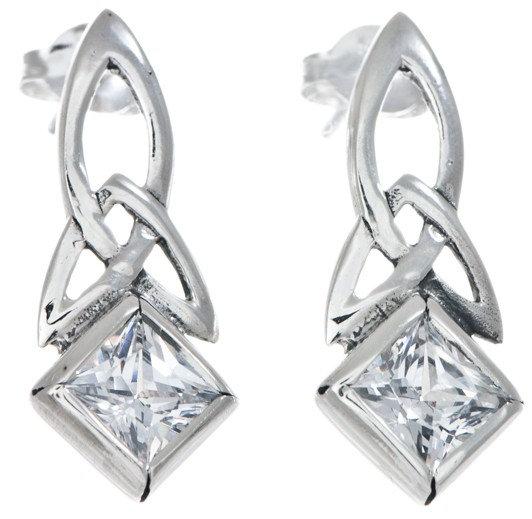 Trinity Diamond Earrings