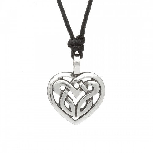 Pewter Loveknot Necklace