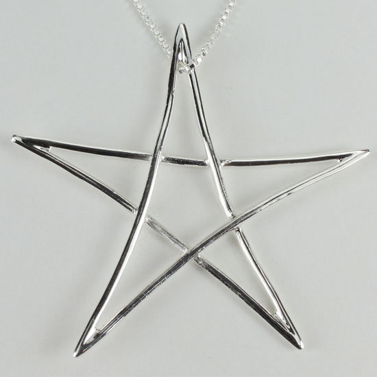 Large Star Pentacle Necklace