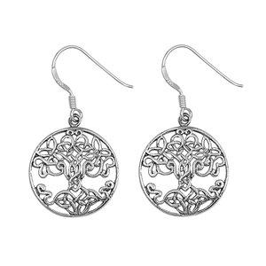 Superknot Tree of Life Earrings