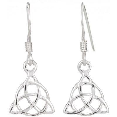 Interlaced Trinity Earrings