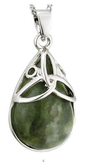 Connemara Oval Trinity Necklace